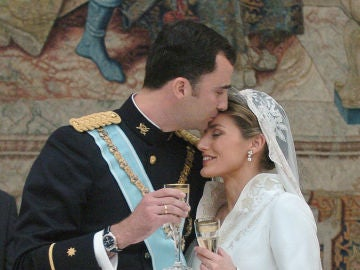 Efemérides 22 de mayo de 2020: Boda de Felipe VI y Letizia