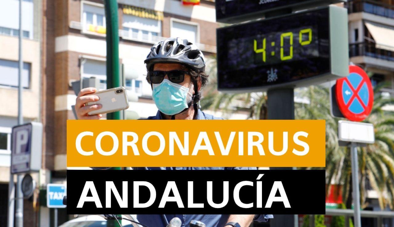 Coronavirus Andalucía: Fases desescalada, datos de muertes y contagios y noticias de hoy 21 de mayo, en directo | Última hora Andalucía
