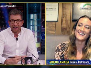 Disfruta de la entrevista completa de Mireia Belmonte en 'El Hormiguero 3.0'