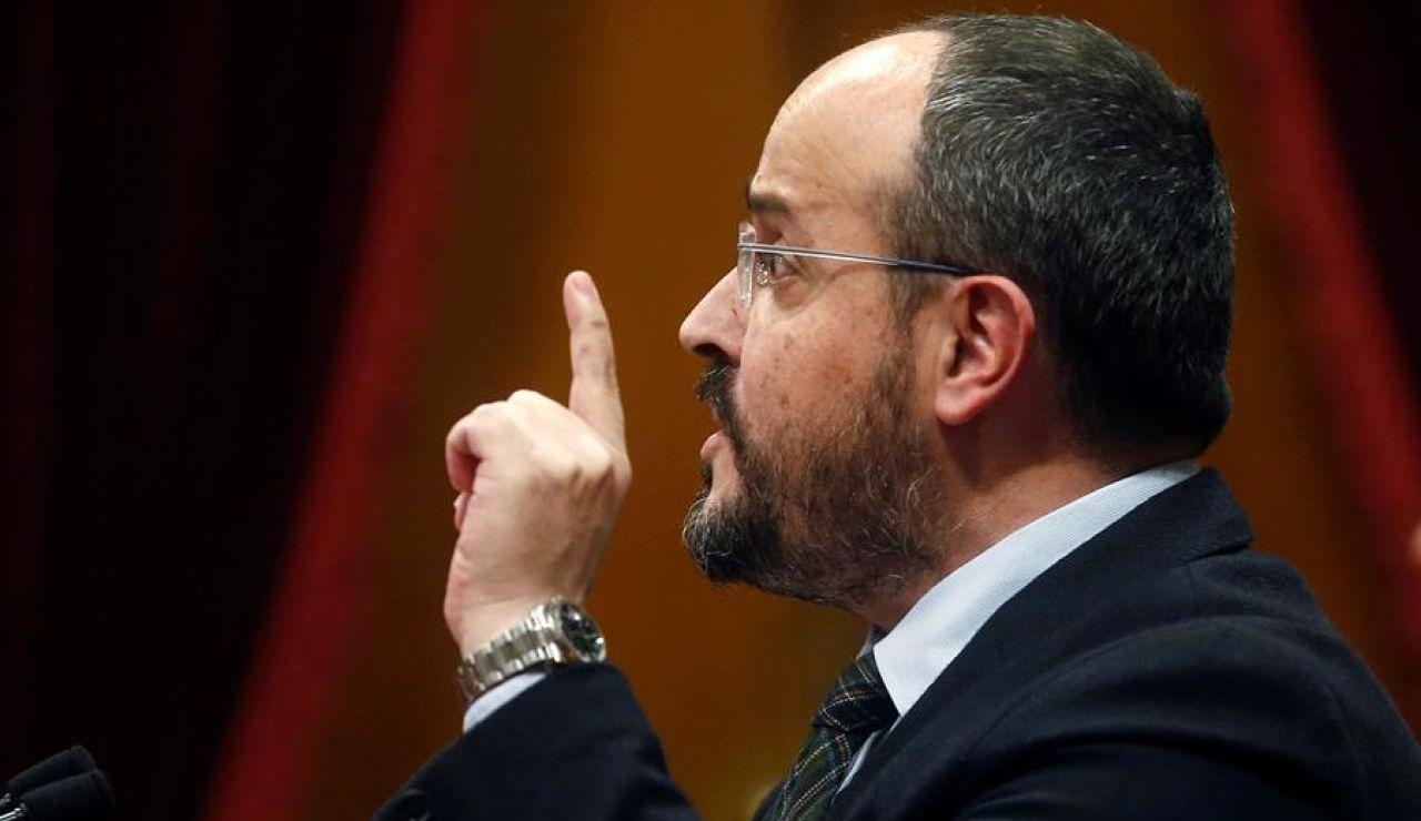Alejandro Fernández, líder del PP en Cataluña