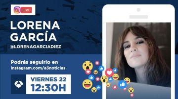 Charla en directo con Lorena García