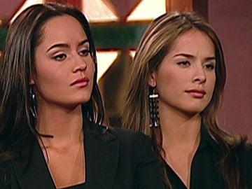 Ana Lucia Domínguez y Danna García en 'Pasion de Gavilanes' como Ruth Uribe y Norma Elizondo