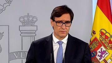 El ministro de Sanidad, Salvador Illa