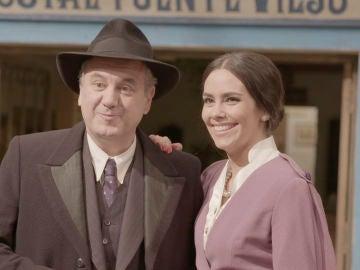 """El cameo de Cristina Pedroche, Roberto Brasero y Gloria Serra: """"Me encanta el look"""""""
