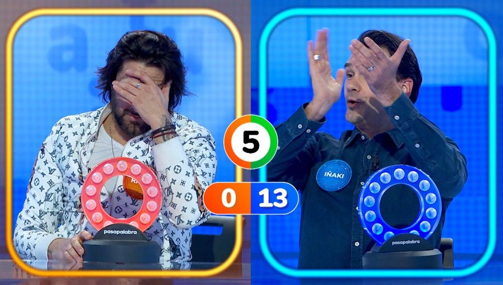 El desternillante pique entre Rafael Amargo e Iñaki López por 'Te estoy amando locamente'