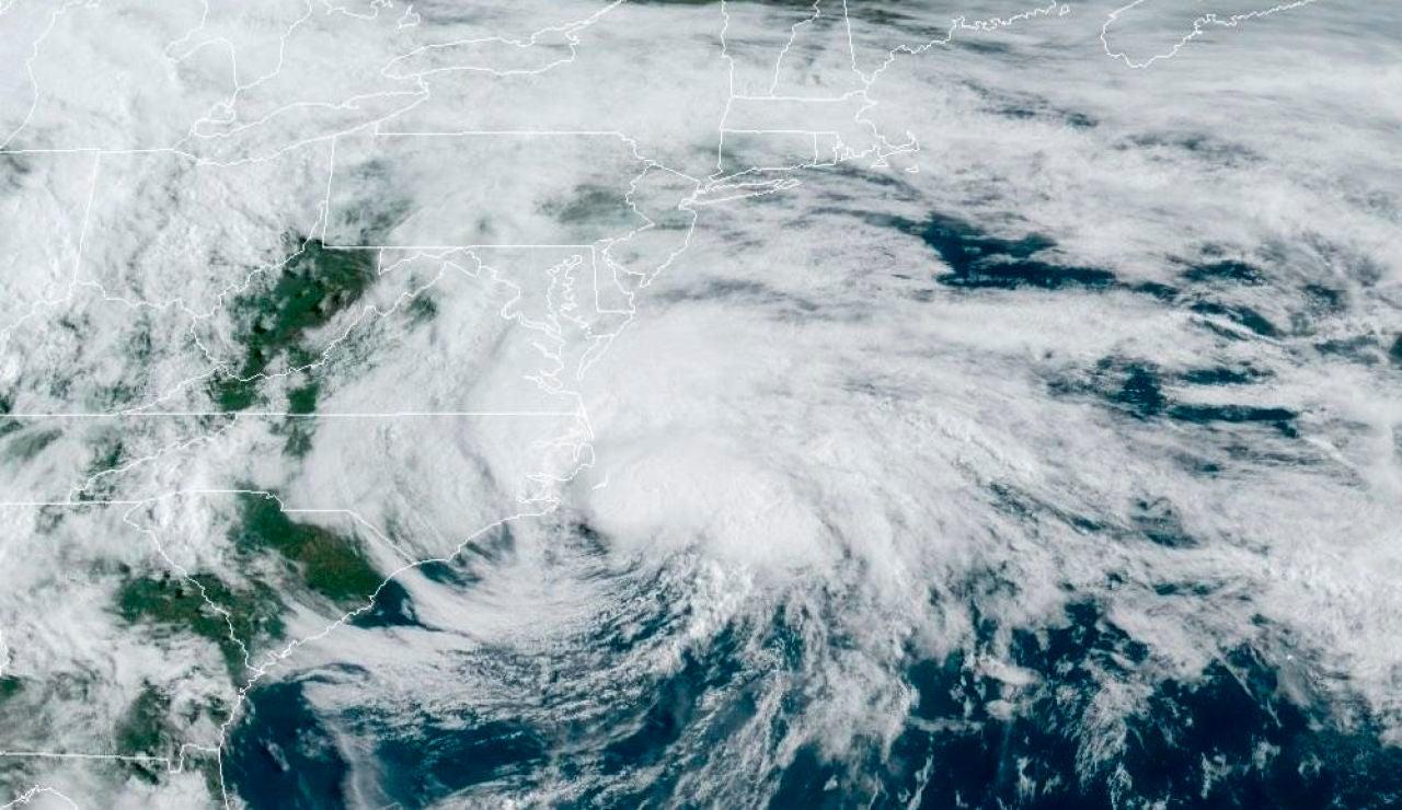 Imagen facilitada la Administración Nacional Oceánica y Atmosférica (NOAA) de Estados Unidos