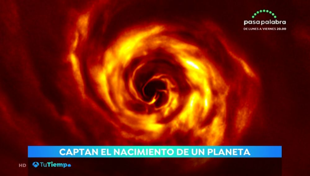 Nacimiento de un planeta.