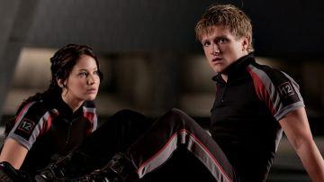 Jennifer Lawrence y Josh Hutcherson en 'Los Juegos del Hambre'