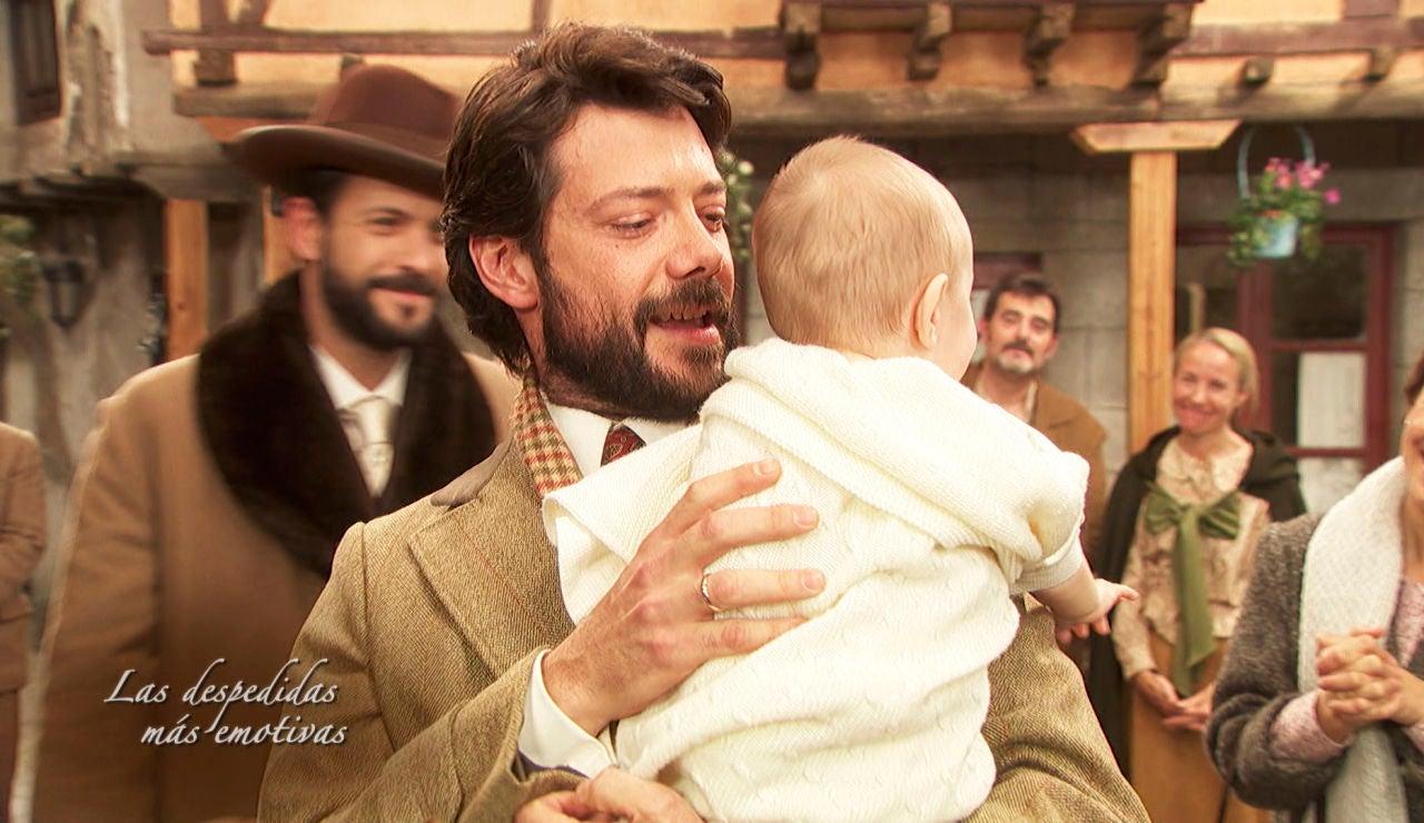 La emoción invade a Puente Viejo con la despedida de Lucas, interpretado por Álvaro Morte