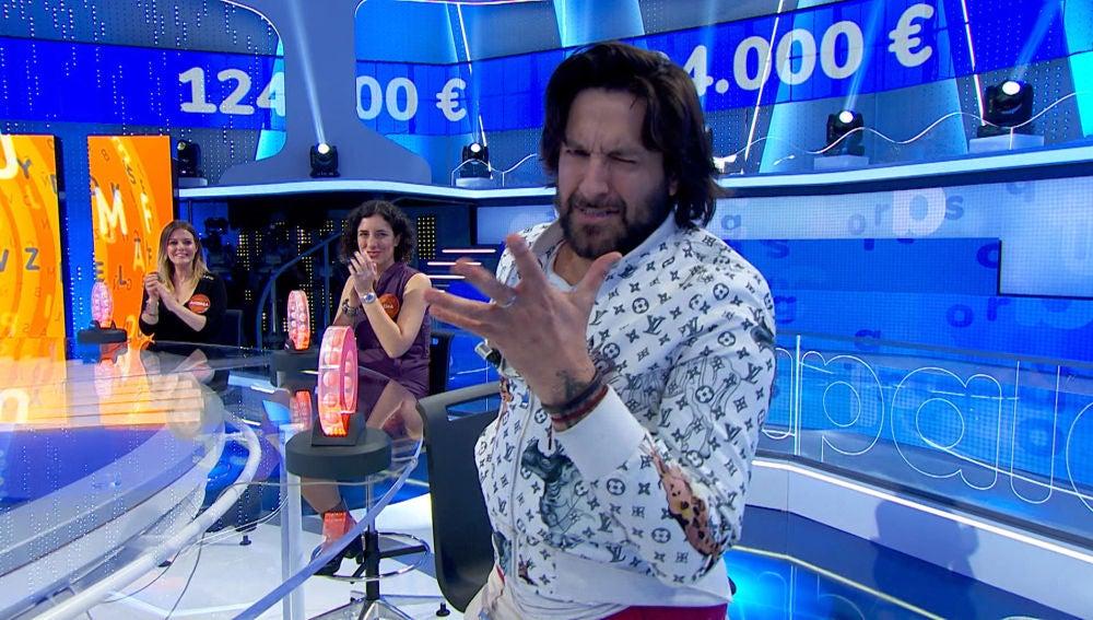 """¡Cuánto arte! Rafael Amargo derrocha talento con su """"pataíta"""" en 'Pasapalabra'"""
