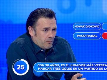 ¿Joaquín o Novak Djokovic? El inesperado error de Iñaki López en 'Una de Cuatro'