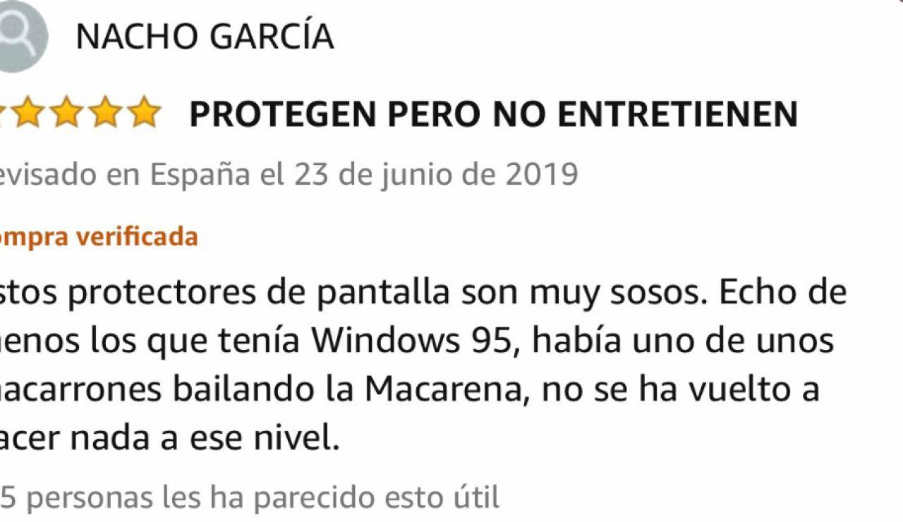 Reseña en Amazon