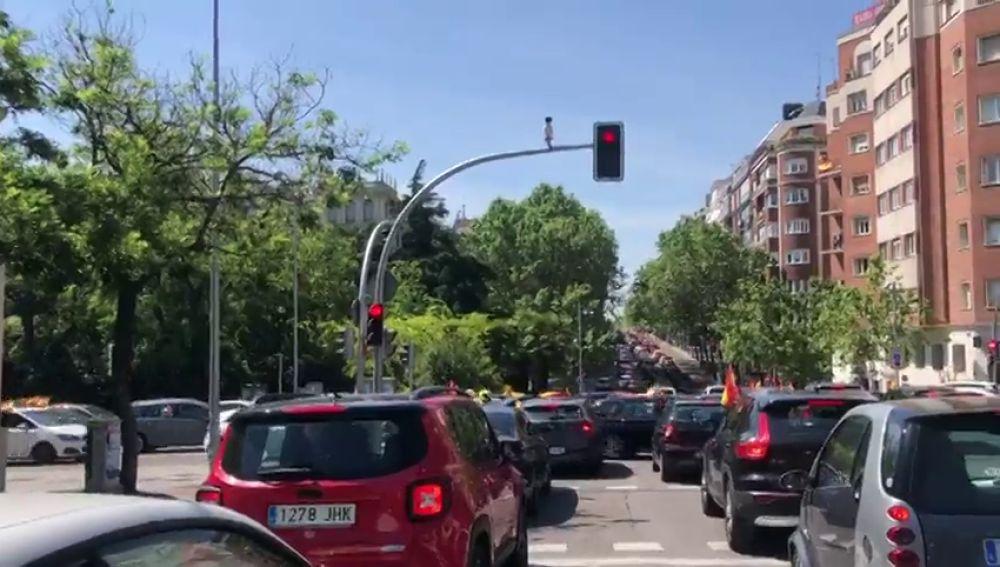 Manifestación de Vox en coches por las provicias de España, streaming en directo