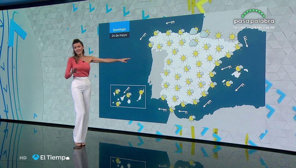 Tu Tiempo (23-05-20) Temperaturas muy altas en gran parte de la Península y Canarias