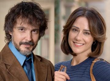 David Janer y Luz Valdenebro, Guillermo y Cristina en 'Amar es para siempre'