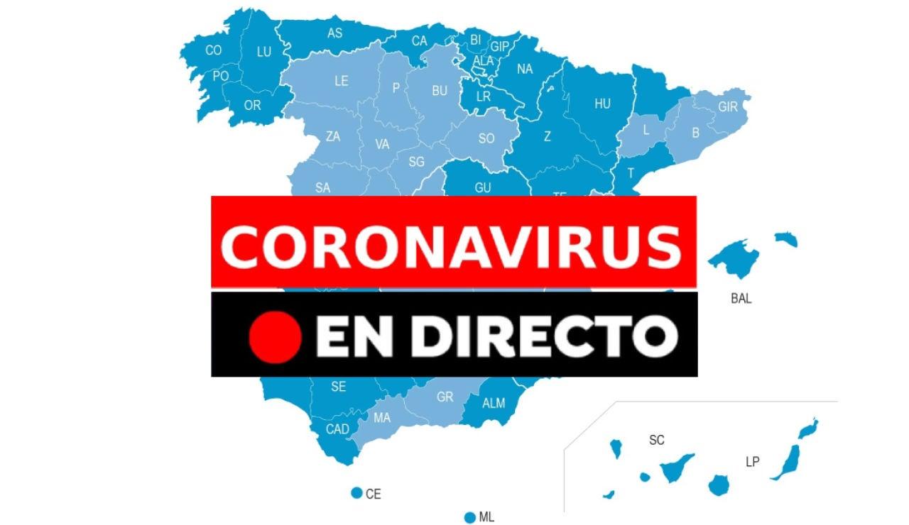 Coronavirus España: Fases desescalada, datos de muertos y contagios de hoy y última hora, en directo