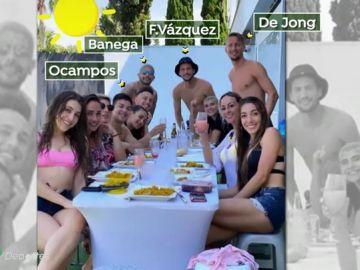 Cuatro futbolistas del Sevilla se enfrentan a una posible sanción tras saltarse el confinamiento por coronavirus