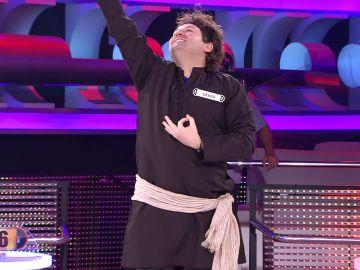 Clase magistral de baile estilo Bollywood con Deivid en '¡Ahora caigo!'