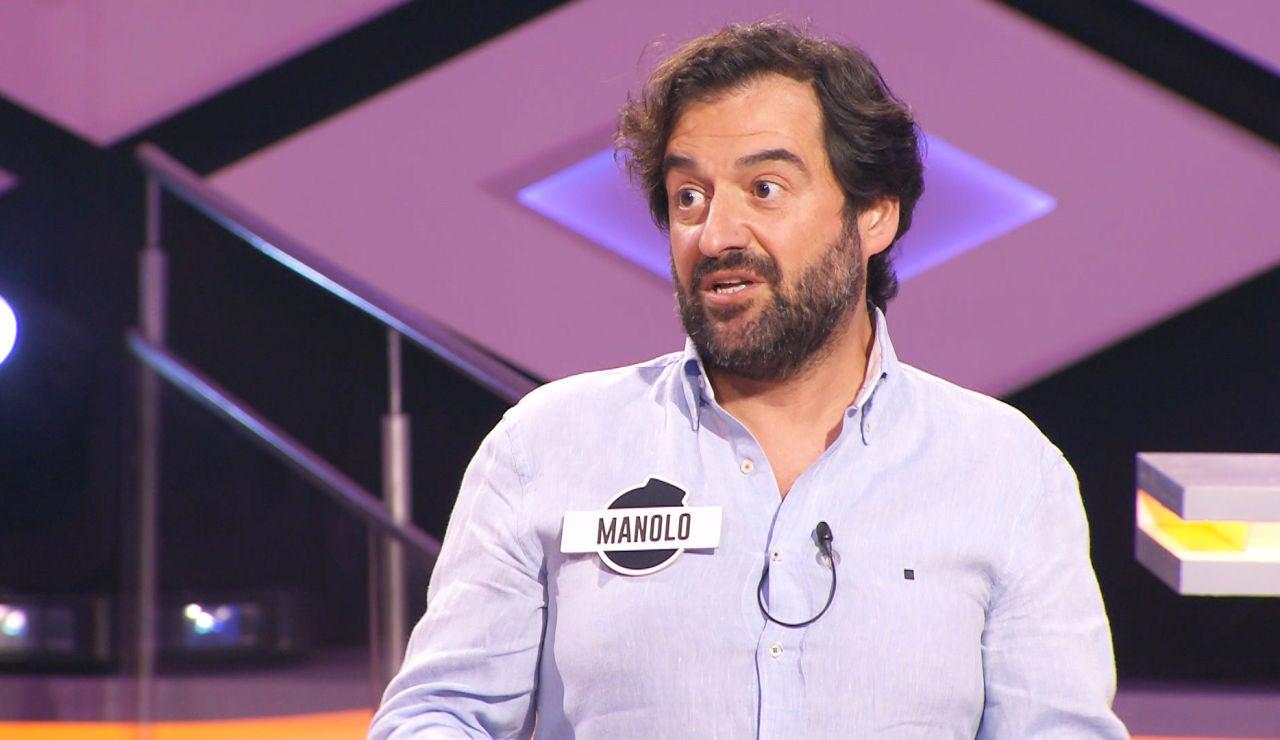"""Así habla Manolo, de 'Los dispersos', sobre su experiencia en concursos de televisión: """"Me gusta ganar"""""""
