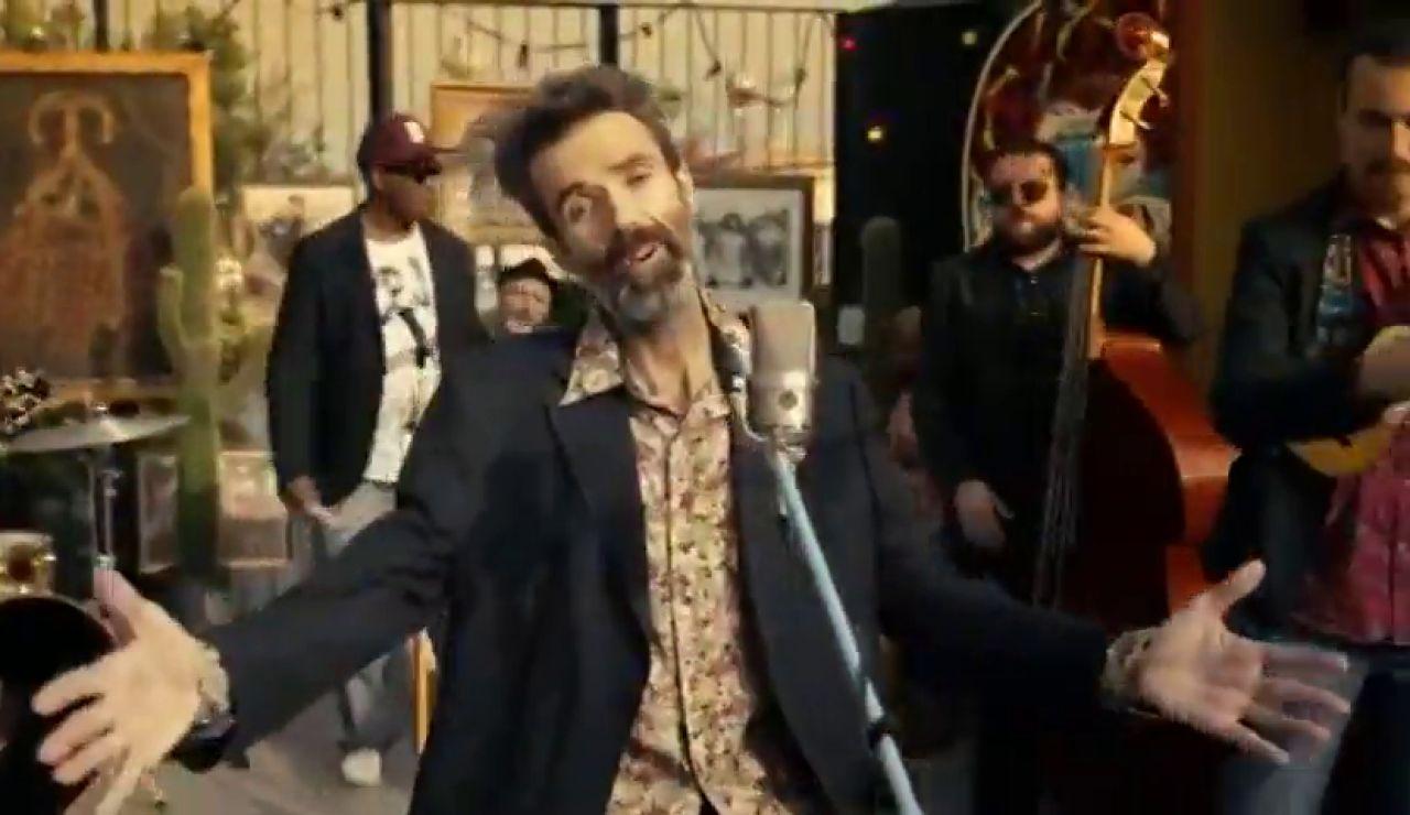 Videoclip de 'Eso que tú me das', la nueva canción de Jarabe de Palo con la reaparición de Pau Donés