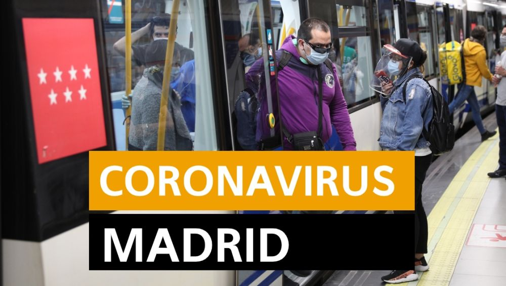 Coronavirus Madrid hoy: Fase 1 desescalada, datos de hoy y últimas noticias lunes 25 de mayo, en directo | Última hora Madrid