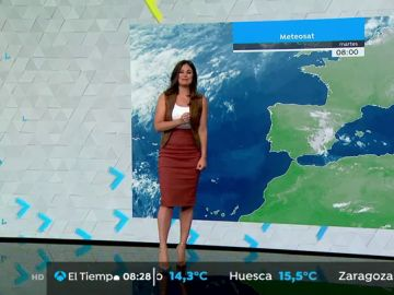 Jornada de lluvias fuertes y tormentas en los sistemas Central e Ibérico