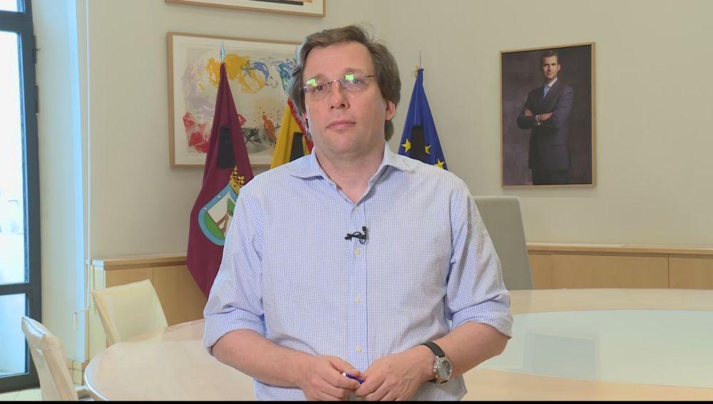 El alcalde explica el Plan de consenso de todos los grupos para recuperar Madrid tras el coronavirus
