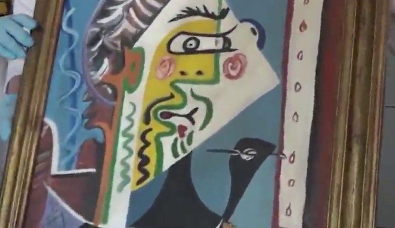 Denuncian a un hombre que intentaba vender una obra falsificada de Pablo Picasso por 200.000 euros