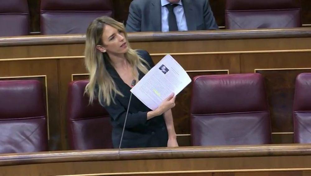 """Álvarez de Toledo llama """"hijo de terrorista"""" a Iglesias y Batet lo borra del diario de sesiones"""