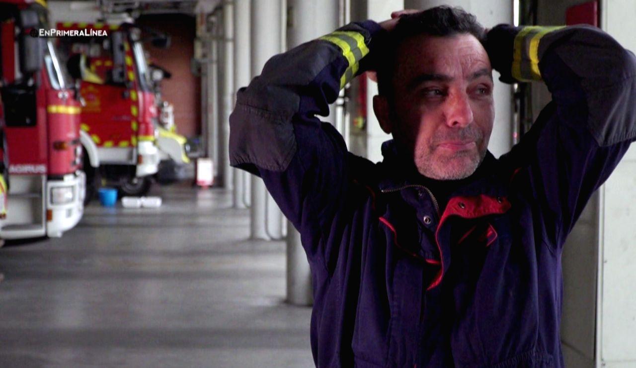 El conmovedor relato de un jefe de Bomberos, incapaz de evitar las lágrimas al recordar su trabajo en las residencias de ancianos