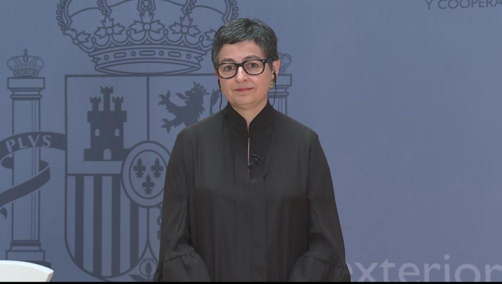 Arancha González, ministra de Exteriores, en Espejo Público