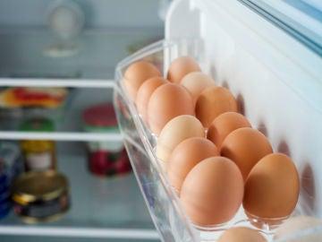 Huevos en nevera