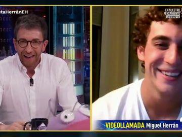Revive la entrevista completa de Miguel Herrán en 'El Hormiguero 3.0'