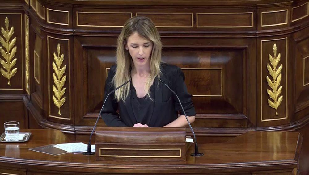 """Cayetana Álvarez de Toledo a Pablo Iglesias: """"Usted es el hijo de un terrorista"""""""
