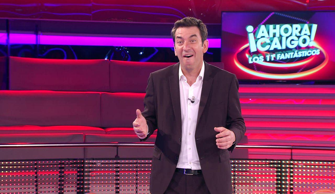 La reacción de Arturo Valls al chiste definitivo de Anna en '¡Ahora caigo!'