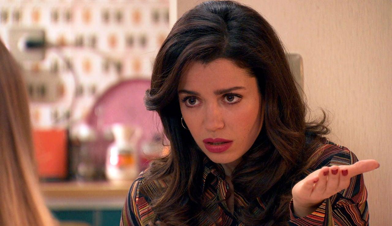 Amelia, sorprendida con la decisión de Luisita para evitar que ambas acaben en la cárcel