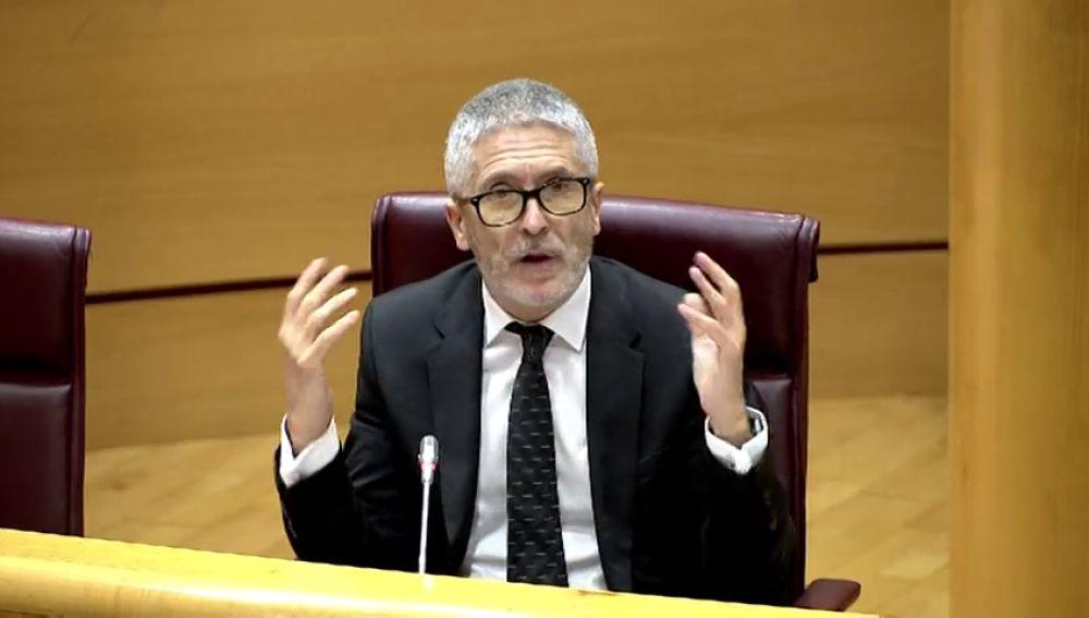 """El PP a Fernando Grande-Marlaska: """"¿Le pidió el presidente que cesara a Pérez de los Cobos?"""""""