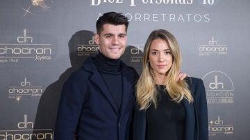 Alice Campello y Álvaro Morata