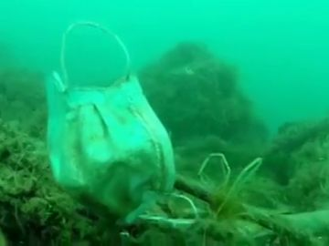 """Los ecologistas alertan: """"Pronto podría haber más mascarillas que medusas en las aguas del Mediterráneo"""""""