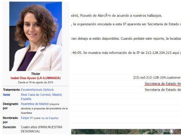 Wikipedia Isabel Díaz Ayuso