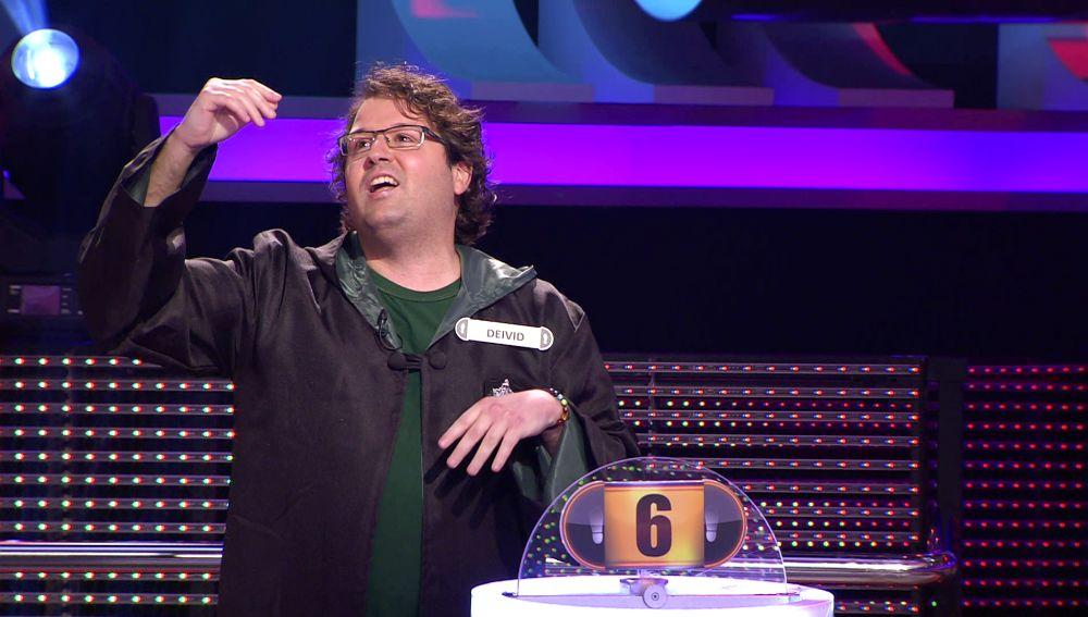 ¿Por qué Deivid se ha disfrazado de Harry Potter? Despliega su magia en '¡Ahora caigo!'