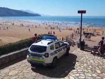 Reabren las playas del País Vasco