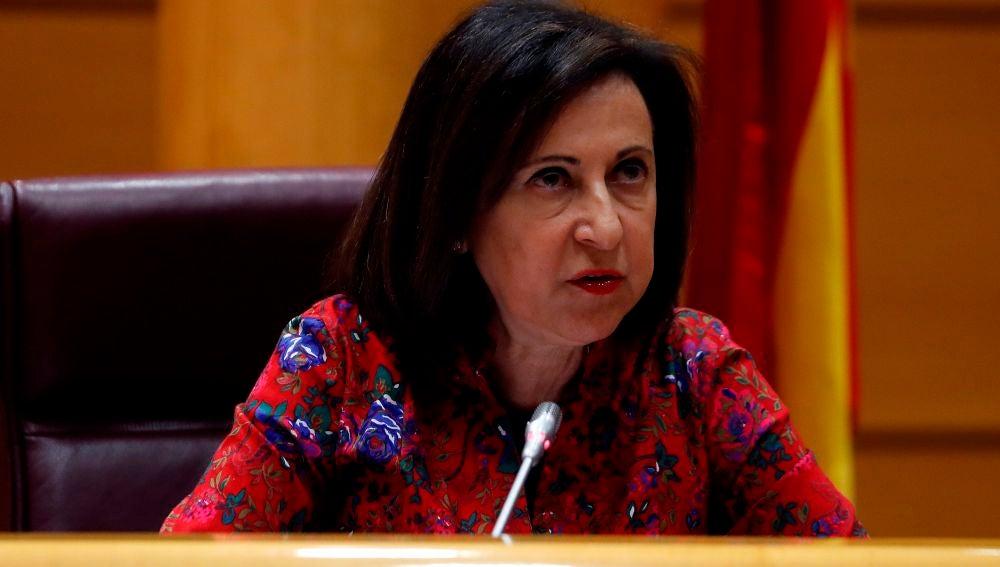 """Margarita Robles, ministra de Defensa: """"No hay riesgo de insubordinación en la Guardia Civil"""""""