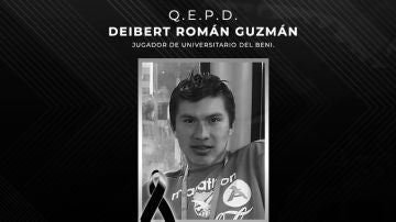 Muere a los 25 el futbolista Deibert Roman Guzmán con coronavirus