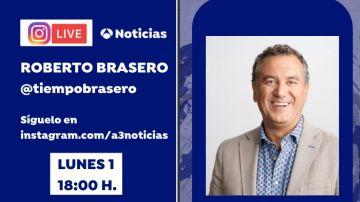 Charla en directo con Roberto Brasero