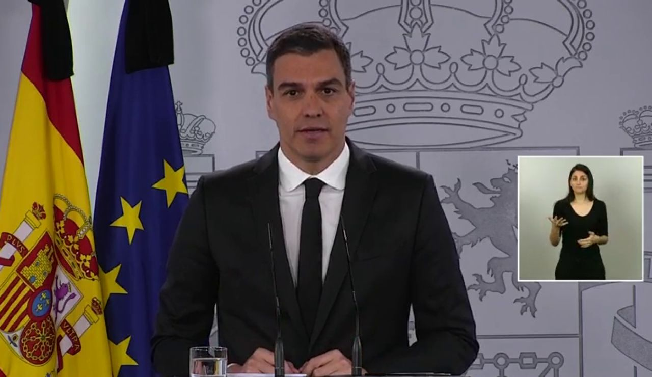 Pedro Sánchez anuncia que la 'nueva normalidad' comenzará el próximo 21 de junio
