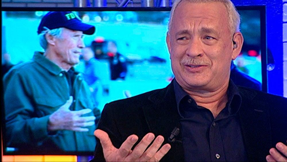 Tom Hanks desata las risas al confesar en 'El Hormiguero 3.0' la particular forma de dirigir de Clint Eastwood