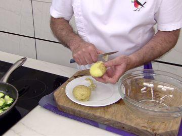 El truco de Karlos Arguiñano para cocer patatas en 4 minutos