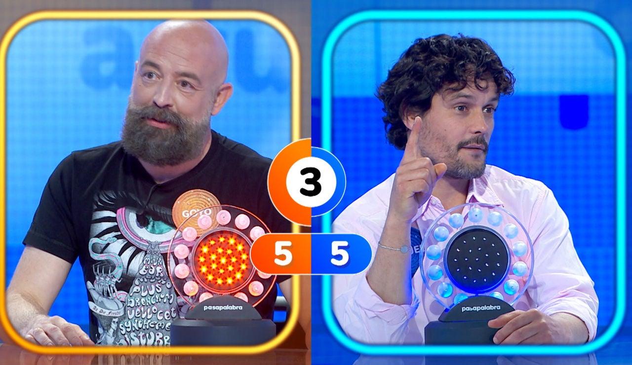 """""""¡Lo hacéis aposta!"""", la queja de Miguel Abellán en su duelo contra Goyo Jiménez"""