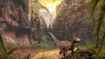 Una investigación científica publica el ángulo del meteorito que acabó con los dinosaurios